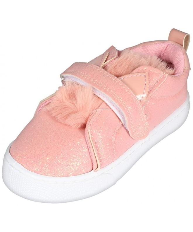 dELiAs Toddler Glitter Sneakers Animal