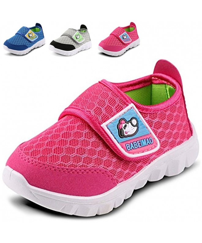 LONSOEN Sneakers Athletic Running Toddler