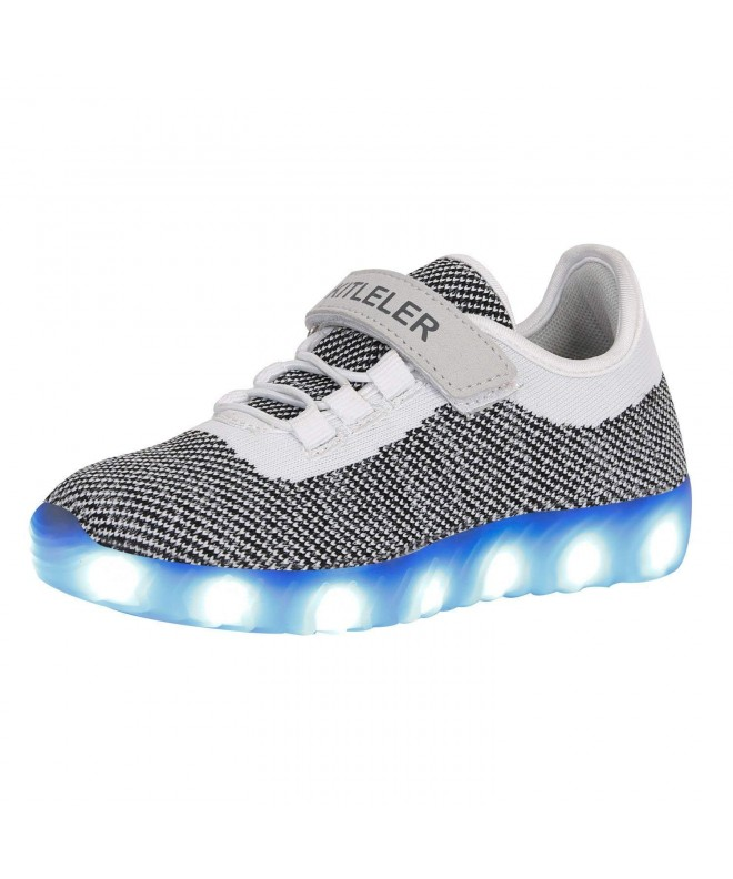Kitleler Girls Light Flashing Sneakers