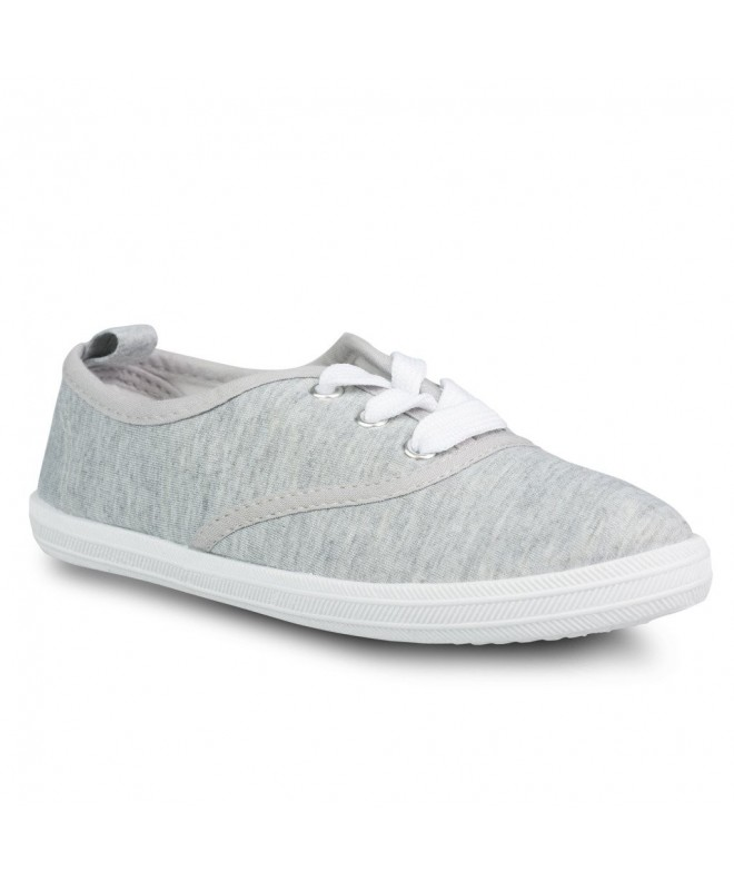 Twisted Girls Canvas Tennis Shoe