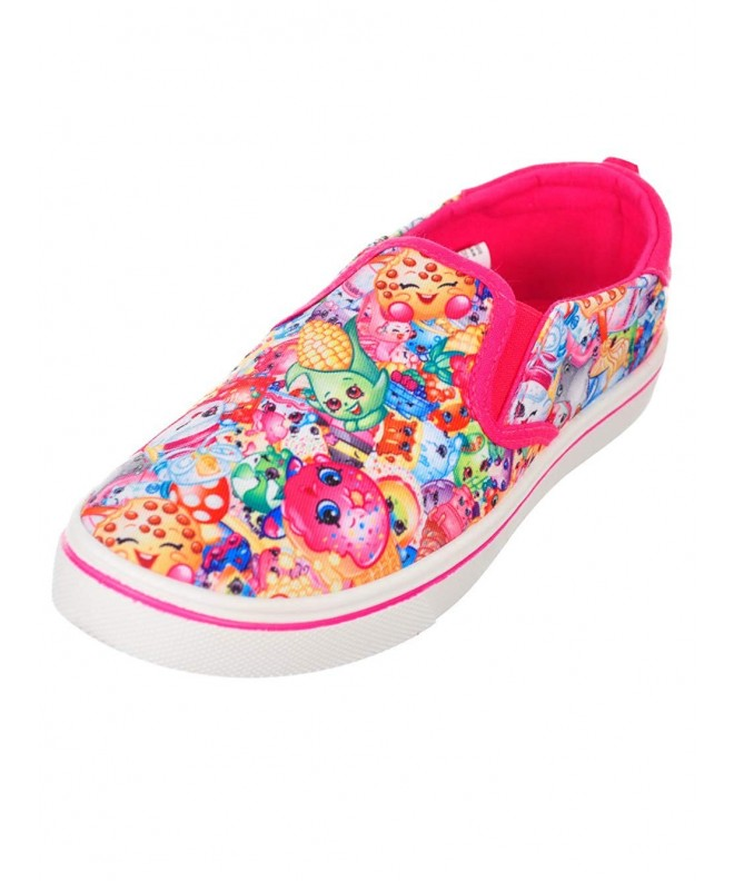 Shopkins Girls Slip On Sneakers