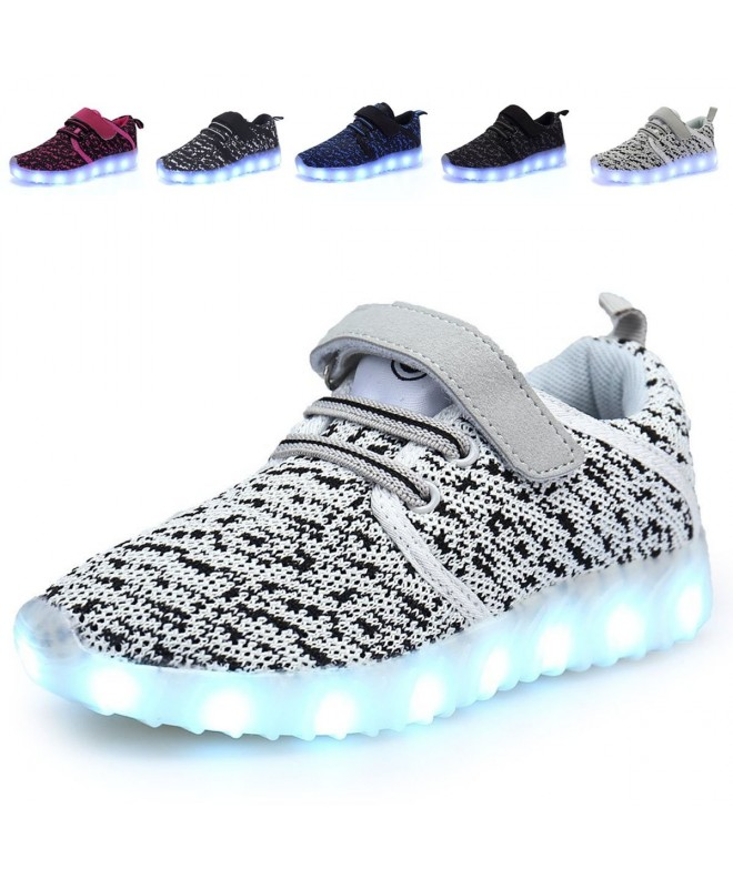 ANLUKE Light Breathable Flashing Sneakers