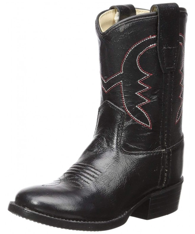 Old West Calfskin Cowboy Pointed