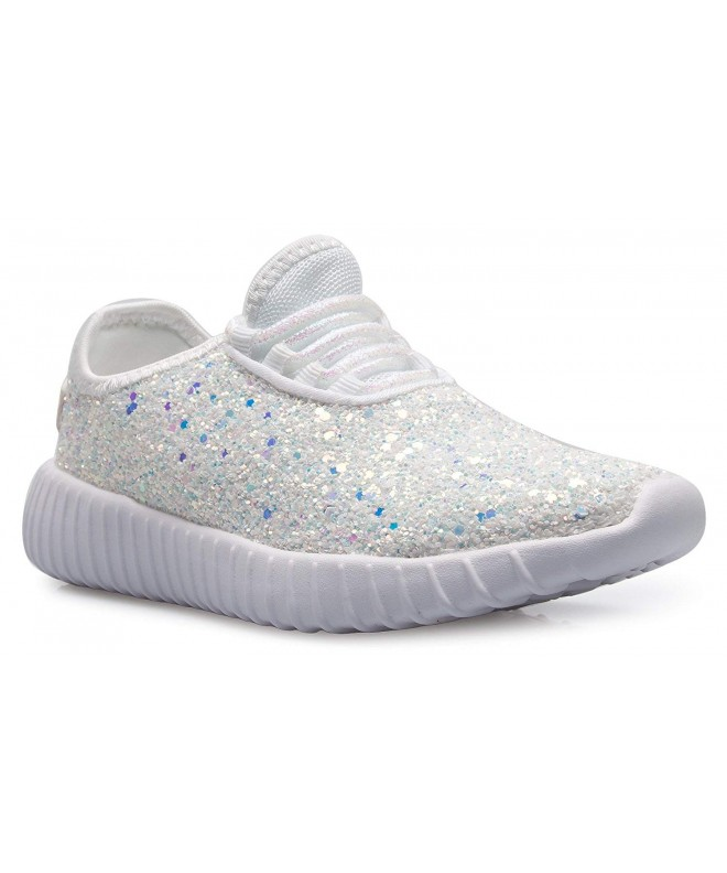 Casual Fashion Sparkly Glitter Sneakers