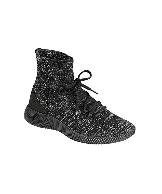 Elastic Fabric Hightop Sneaker weight Forever