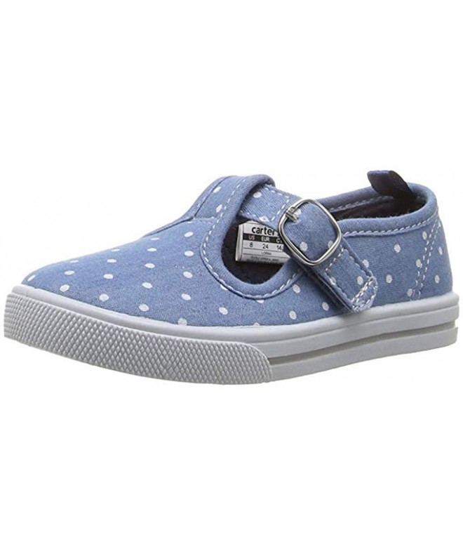 Carters Little Girls Canvas Sneaker