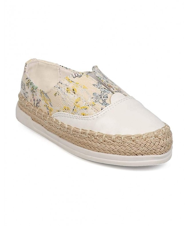Floral Espadrille Sneaker Toddler Little