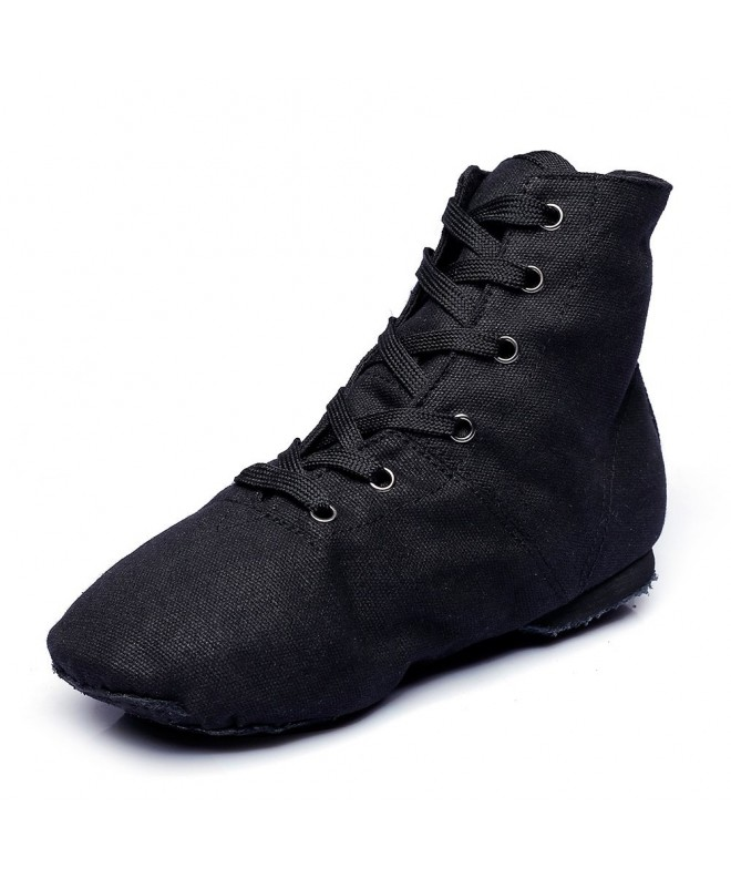 Canvas Girls Practice Shoes Black