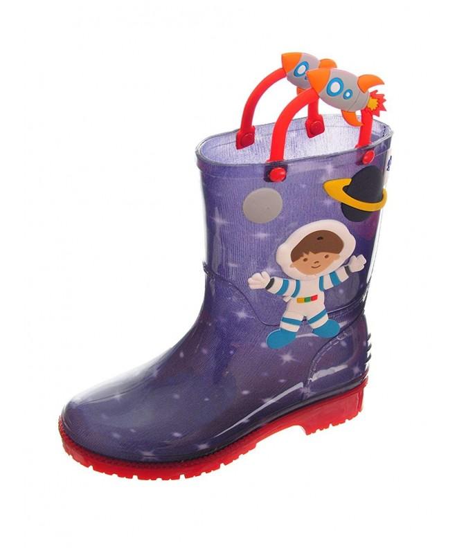 Splash Me Astronaut Rain Boots