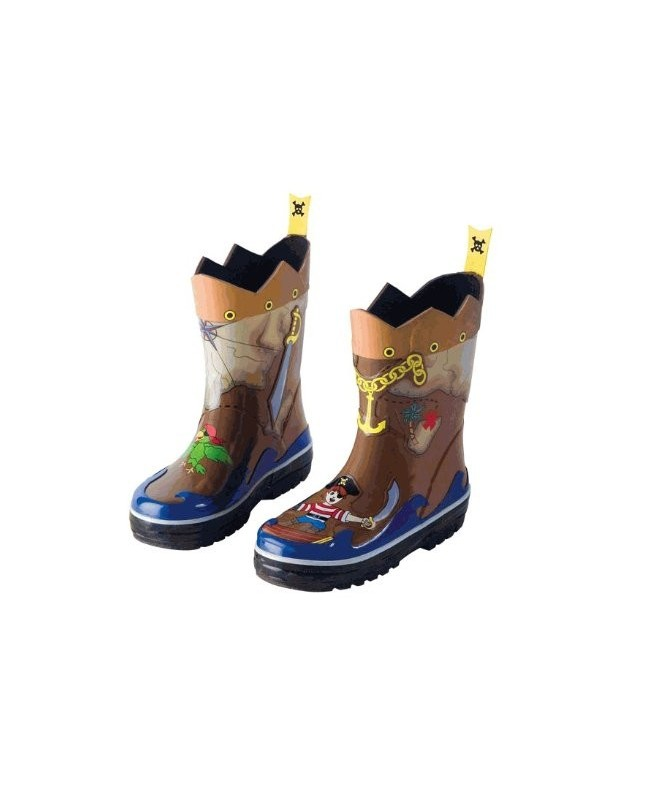 Kidorable Pirate Rainboots Size 8