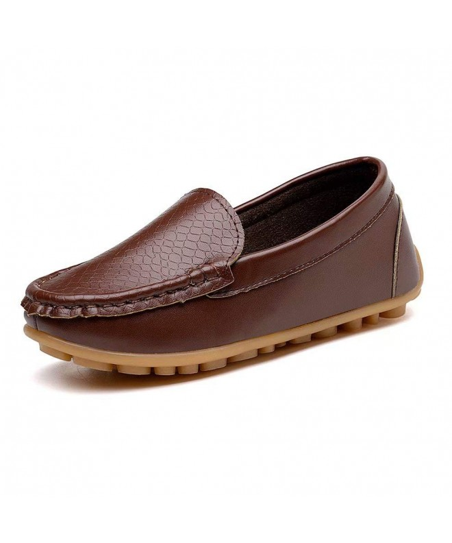 konhill Loafers Moccasin Slippers Boat Dress