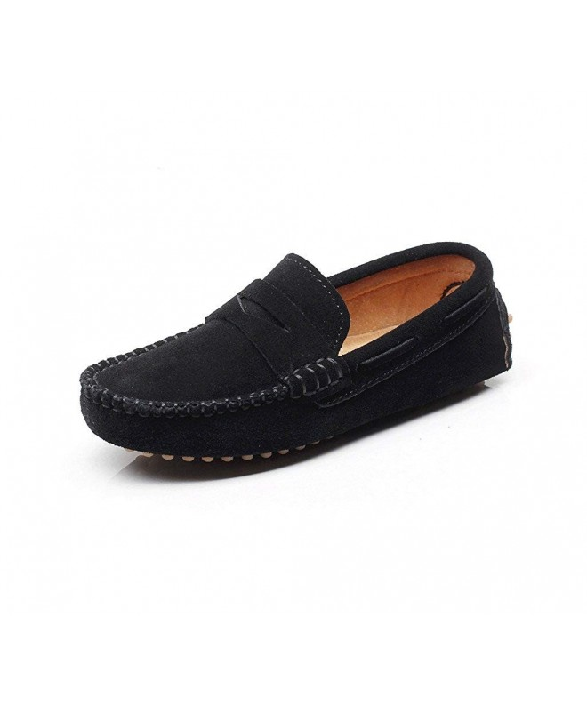 Shenn Slip Leather Loafers S8884