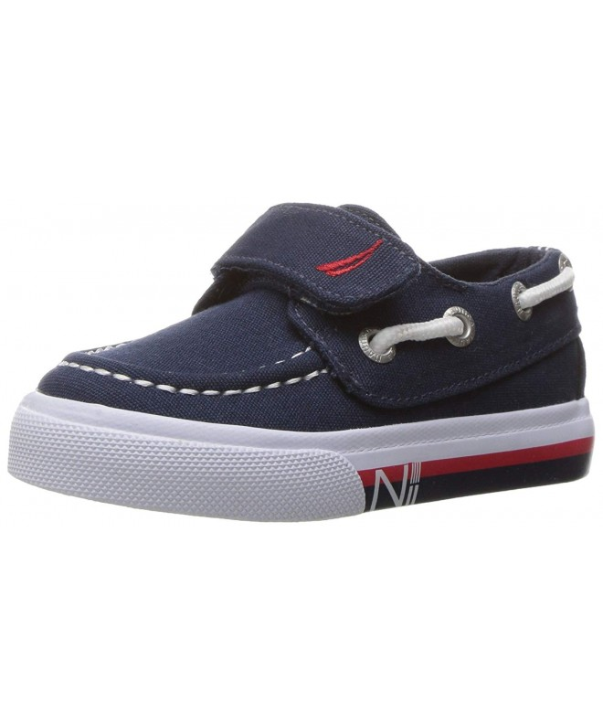 Nautica Little River Striped Foxing