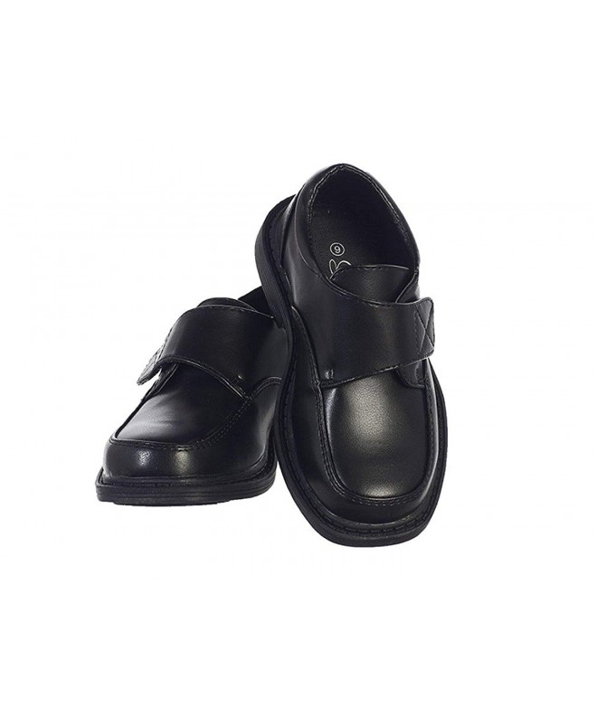 Lito Matte Dress Shoes Velcro
