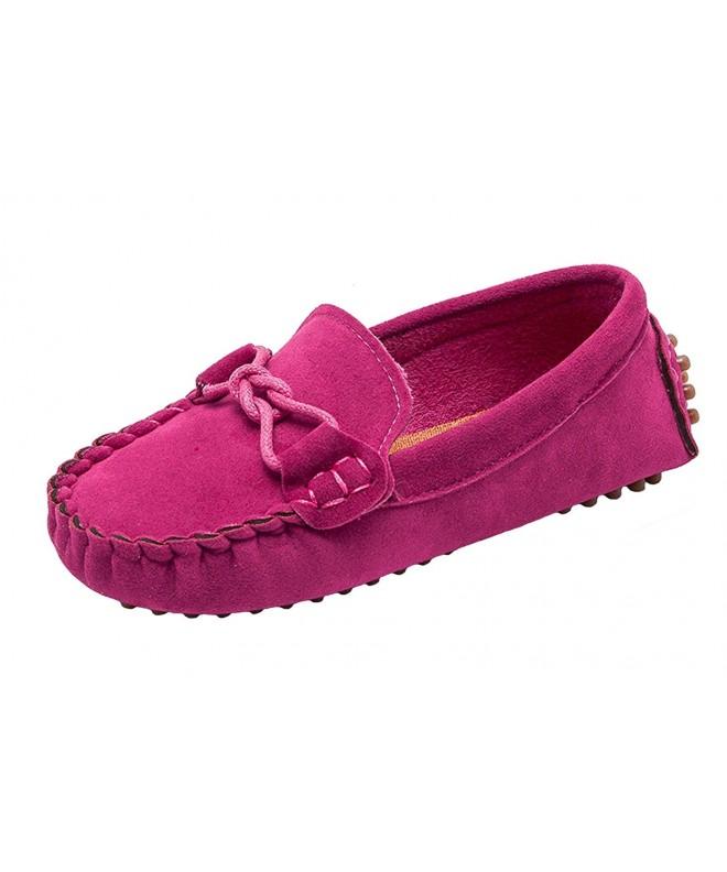 WUIWUIYU Loafers Oxfords Moccasins Toddler