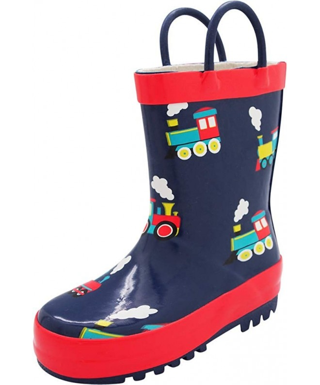 NORTY Waterproof Rubber Rain Boots