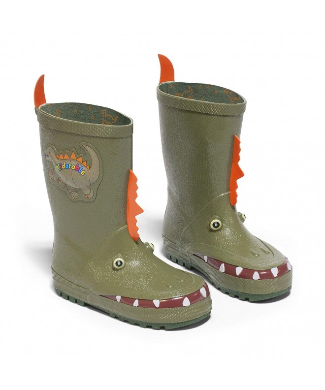 Kidorable Boys Dinosaur Rain Boot