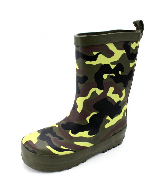 Camouflage Boys Boots Toddler Little