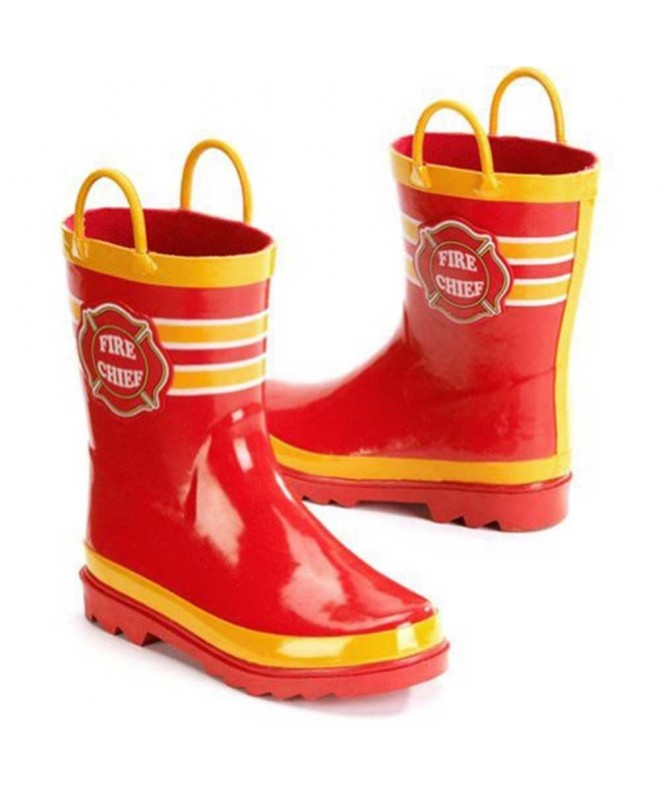 Fire Chief Boys Boots Toddler