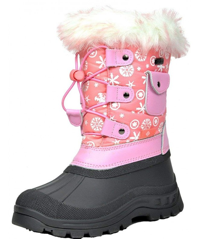 DREAM PAIRS Girls Insulated Waterproof