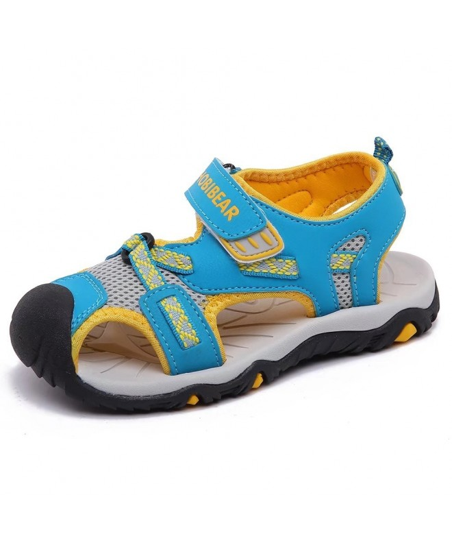 HOBIBEAR Outdoor Closed Toe Summer Sandals